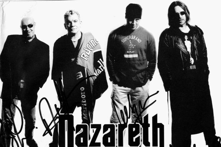 Nazareth booking agent BnMusic