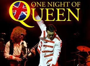 One Night of Queen tribute booking agent BnMusic