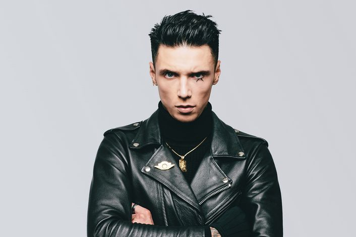Andy Black official website of booking agent