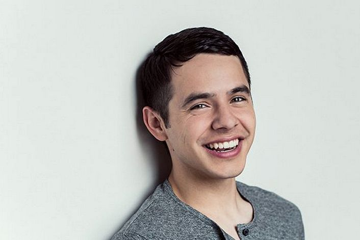 David Archuleta official website of booking agent