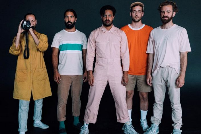 Young The Giant official website of booking agent